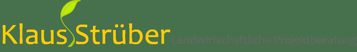 Klaus Strüber - Landwirtschaftliche Projektberatung Logo